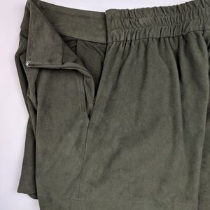 1. State Shorts - State High Waist Faux Suede Shorts